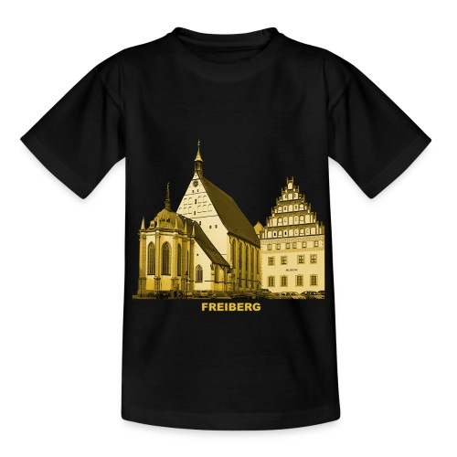 Freiberg Sachsen Dom Silbermann Orgel Erzgebirge - Kinder T-Shirt