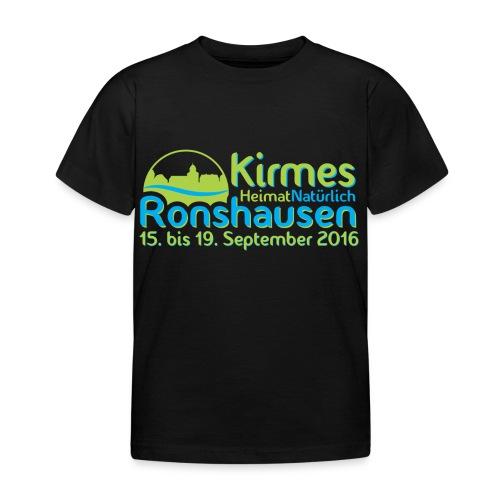 Kirmes Logo 2016 - Kinder T-Shirt