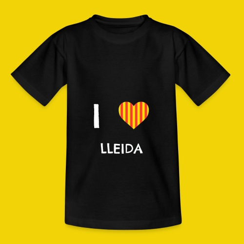 I Love Lleida - Kids' T-Shirt
