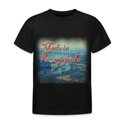 Made in Koppelo lippis - Lasten t-paita