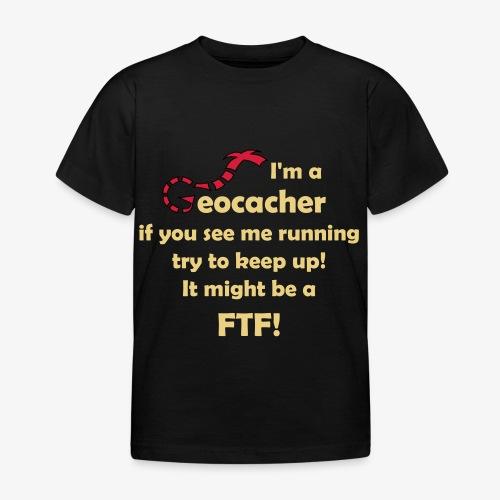 FTF-Jäger - Kinder T-Shirt