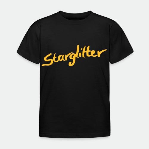 Starglitter - Lettering - Kids' T-Shirt