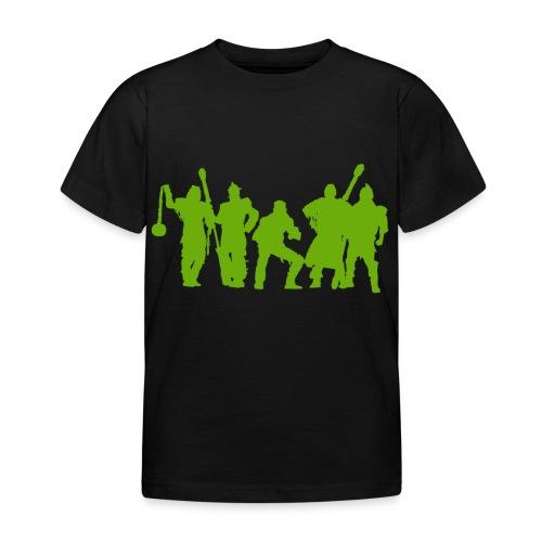 Jugger Schattenspieler gruen - Kinder T-Shirt