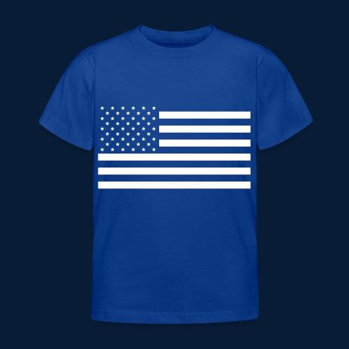 Stars and Stripes White - Kinder T-Shirt