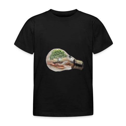 Baum und fliege in einer Glühbirne Geschenkidee - Kinder T-Shirt
