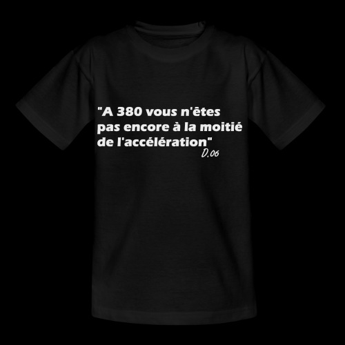 380 (blanc) - T-shirt Enfant