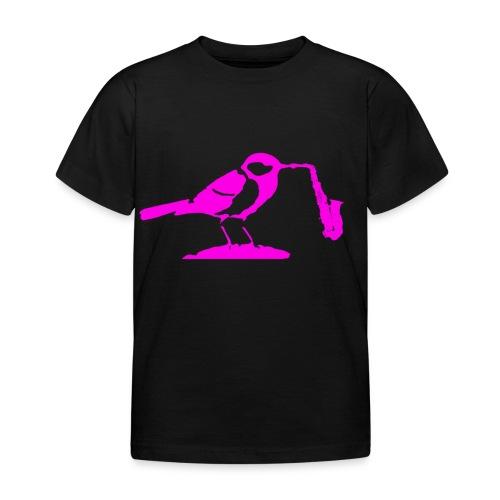 Parus saxophonus major - T-shirt barn