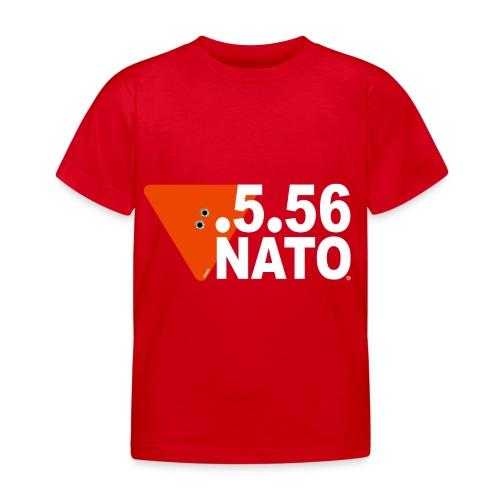 .5.56 NATO BLANC - T-shirt Enfant