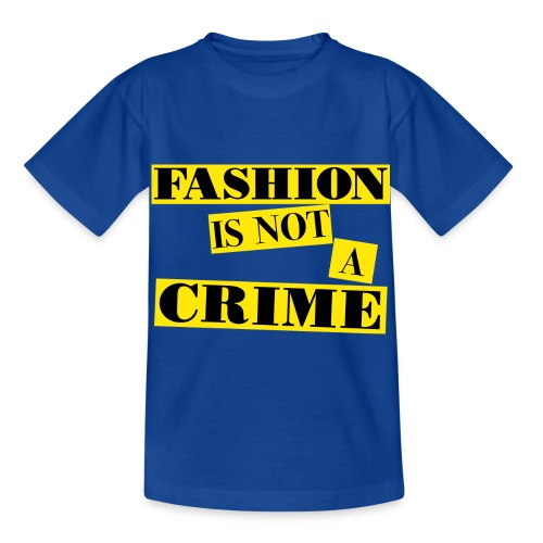 FASHION IS NOT A CRIME - Kids' T-Shirt