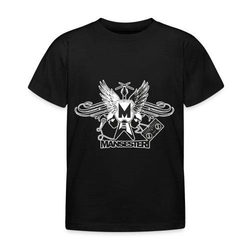 Mansesteri logo - Lasten t-paita