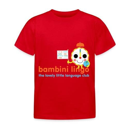 bambini lingo - the lovely little language club - Kids' T-Shirt
