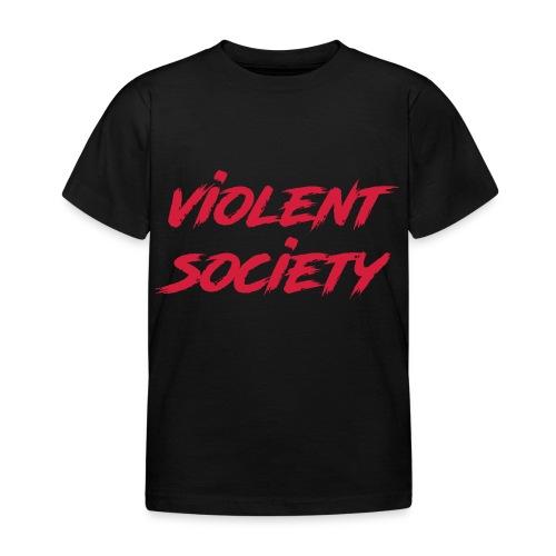 Violent Society - Kinder T-Shirt