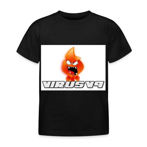 Virusv9 Weiss - Kinder T-Shirt