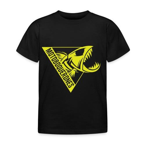 Logo Motoboquerones amarillo - Camiseta niño