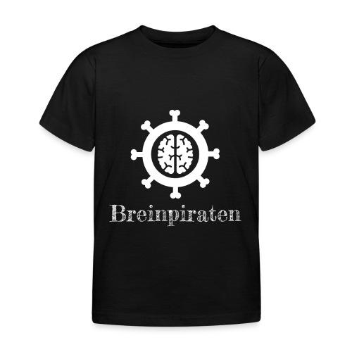 Breinpiraten logo - Kinderen T-shirt