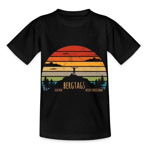 lustige Wanderer Sprüche Shirt Geschenk Retro - Kinder T-Shirt