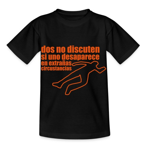 dos no discuten - Camiseta niño