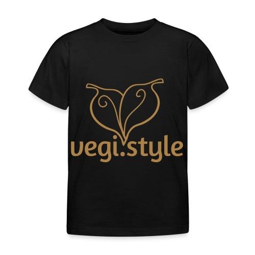 vegi.style logo - Kinder T-Shirt