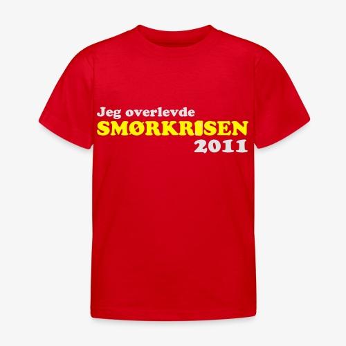 Smørkrise 2011 - Norsk - T-skjorte for barn