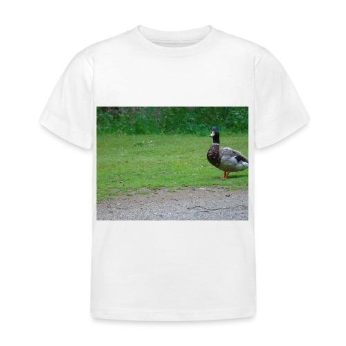A wild duck - Kids' T-Shirt