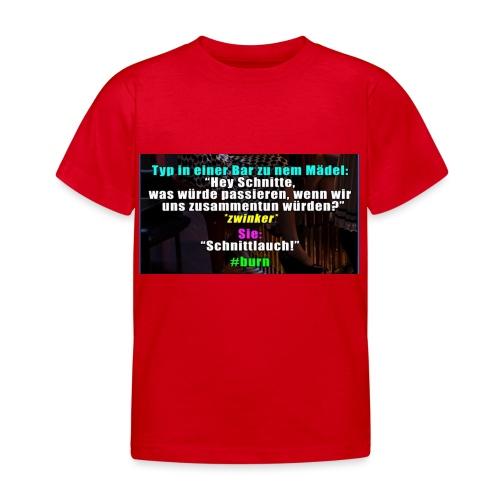 SchnitLauch - Kinder T-Shirt