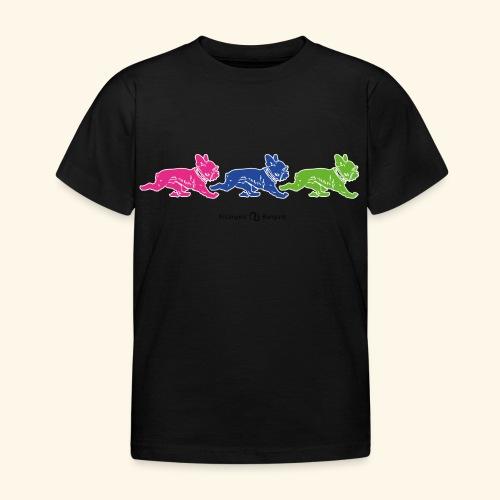 frenchies multicolor - T-shirt Enfant