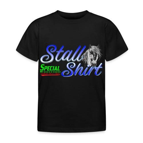 Special Edition Stall Shirt Reiten Geschenkidee - Kinder T-Shirt