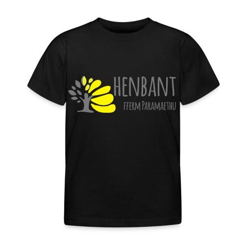 henbant logo - Kids' T-Shirt