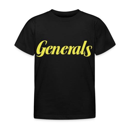 Generals - Kinder T-Shirt