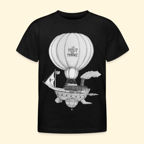 Bateau volant steampunk - Le Haut de France - T-shirt Enfant