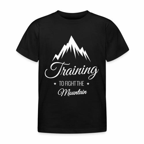 Koszulka Wspinaczka Górska Mountain Training - Koszulka dziecięca