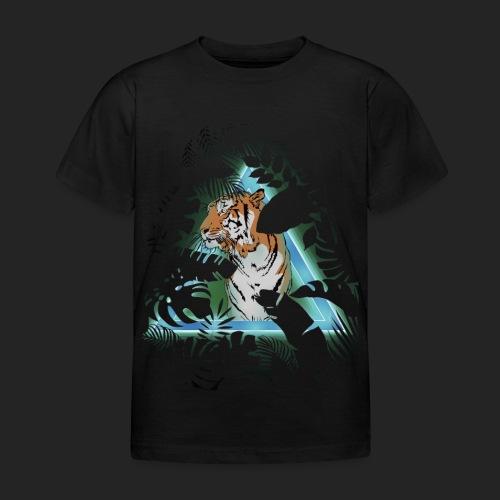 Tigre en soirée - T-shirt Enfant