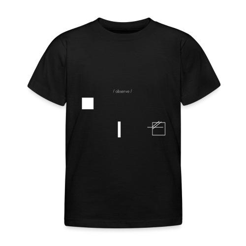 /obeserve/ sweater (M) - T-skjorte for barn