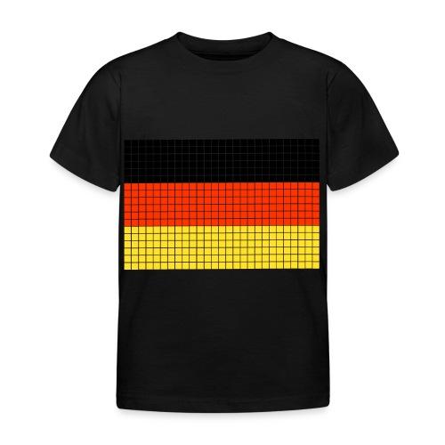 german flag.png - Maglietta per bambini