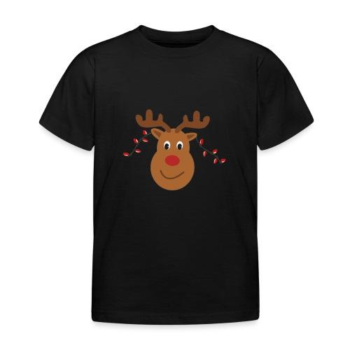 Christmas reindeer - Kinderen T-shirt