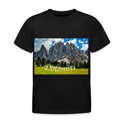 Naturpark Puez Geisler - Kinder T-Shirt