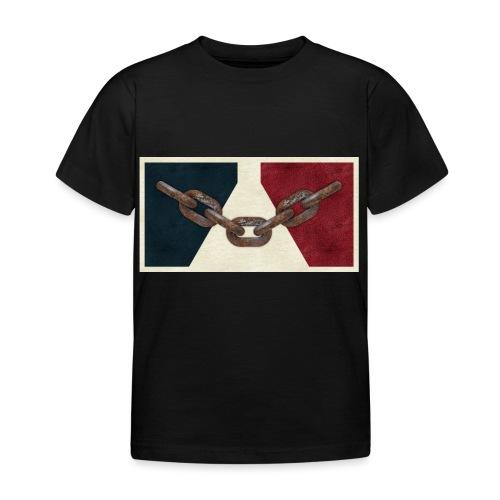 Black County Flag - Kids' T-Shirt