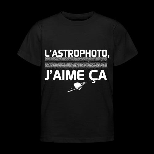 L'Astrophoto - T-shirt Enfant