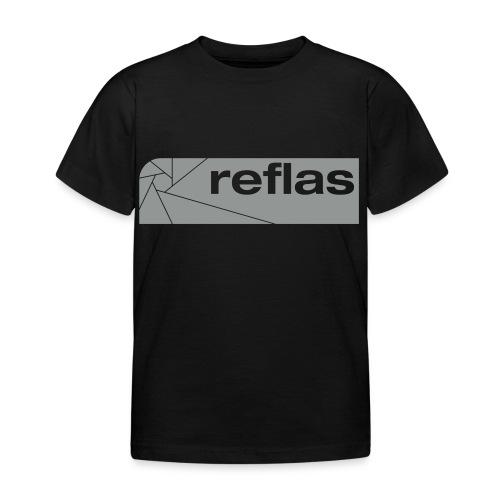 Reflas Clothing Black/Gray - Maglietta per bambini