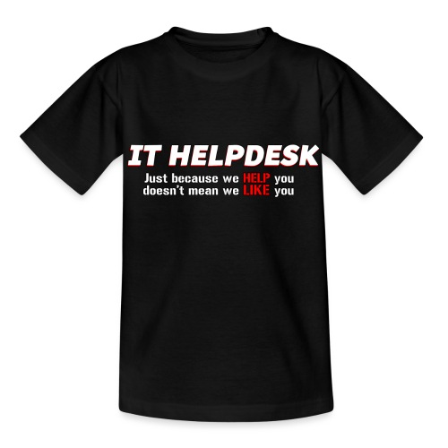 I.T. HelpDesk - Kids' T-Shirt