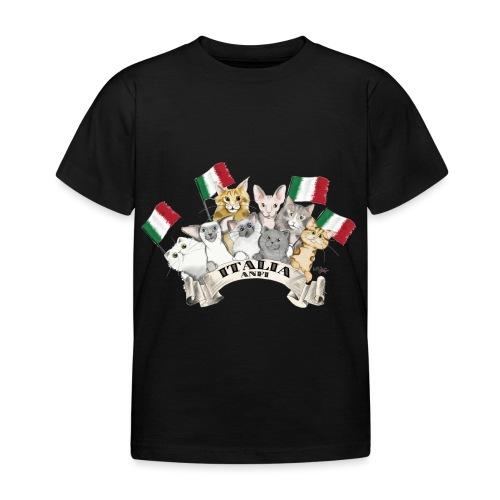 Esposizione feline Italia - Maglietta per bambini