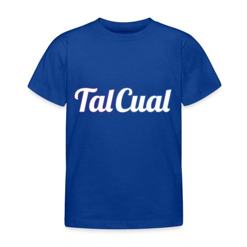 TalCual Logo - Camiseta niño