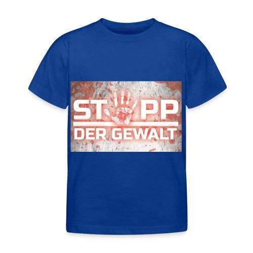 STOPP DER GEWALT - Kids' T-Shirt