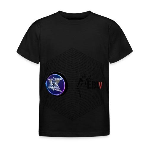 disen o dos canales cubo binario logos delante - Kids' T-Shirt
