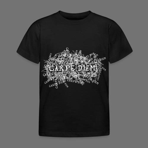 carpe diem (white) - Kids' T-Shirt