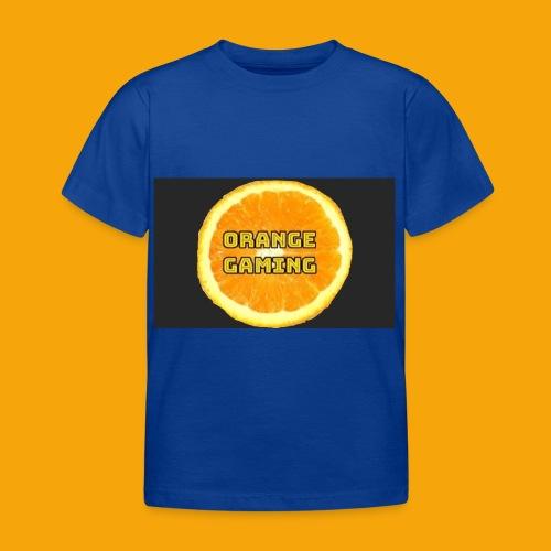 Orange_Logo_Black - Kids' T-Shirt