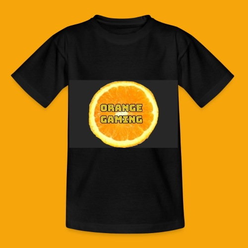 Orange_Logo_Black - Kids' T-Shirt