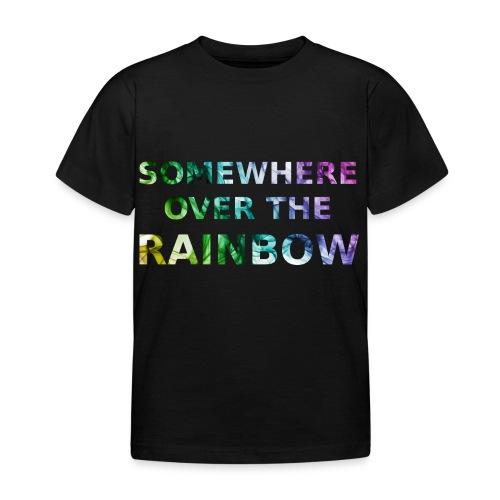 Somewhere over the... - Maglietta per bambini