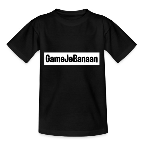 Design zwart wit - Kinderen T-shirt