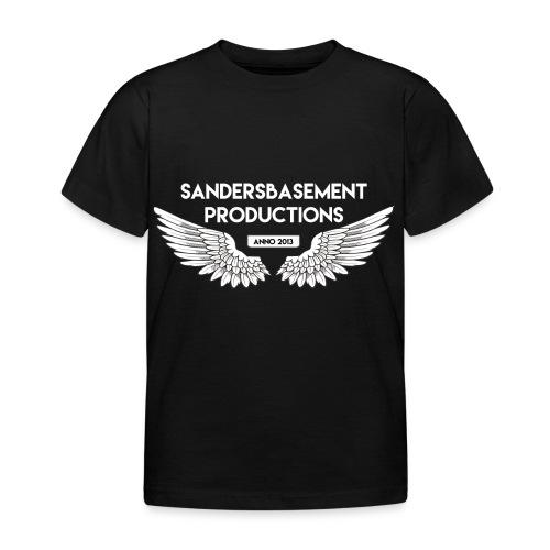 T SHIRT logo wit png png - Kinderen T-shirt